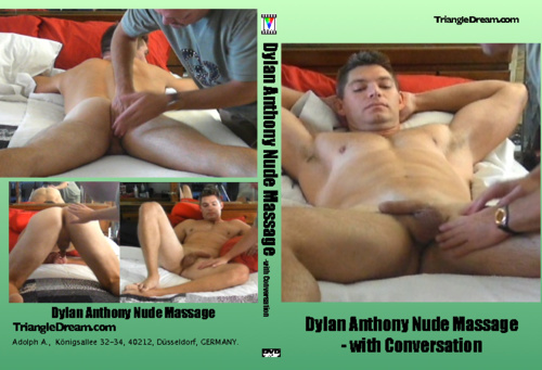 gay porn movie Dylan Anthony Nude Massage- with Conversation
