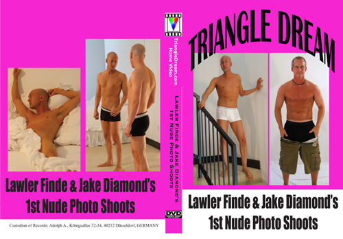 gay porn movie Lawler Finde & Jake Diamond's 1st Nude Photo Shoot
