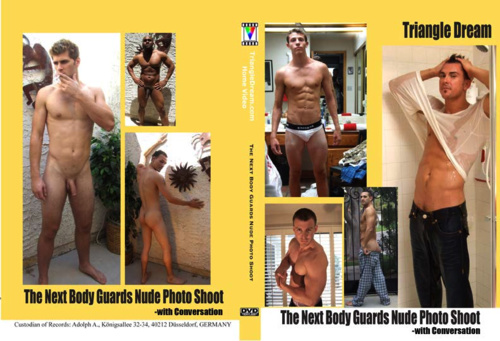 gay porn movie The Next Body Guards Nude Photo Shoot- with Conversation