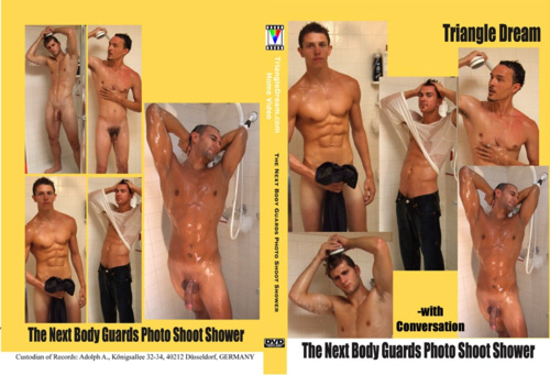 gay porn movie The Next Body Guards Photo Shoot Shower- with Conversation