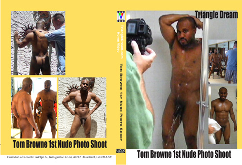 gay porn movie Tom Browne 1st Nude Photo Shoot