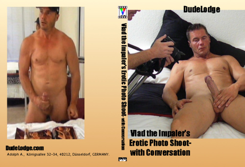 Vlad the Impaler's Erotic Photo Shoot- with Conversation Home DVD